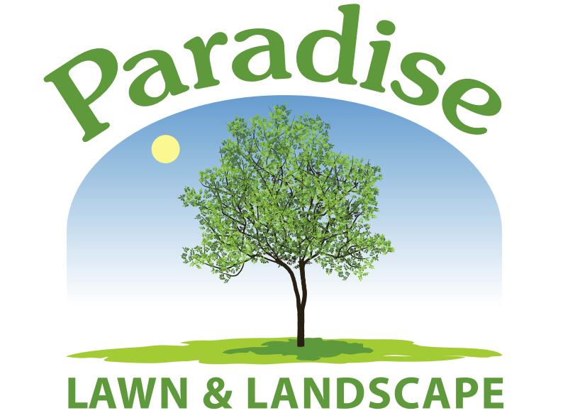 paradise lawn landscape logo